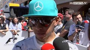 Post-Qualifying: Hamilton tight-lipped