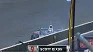 2014 Indy 500 Scott Dixon Crash
