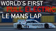 WORLD'S FIRST FULL ELECTRIC LAP AT LE MANS