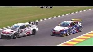 Muller, Pechito and Loeb star at Spa! - Citroën WTCC 2014