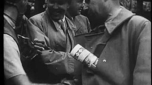 Tazio Nuvolari wins German Grand Prix 1935