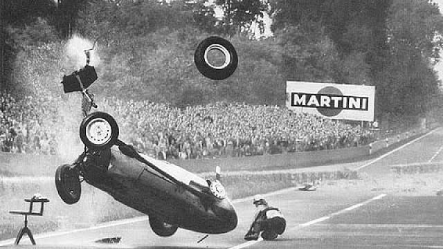 F1 1959 Avus Gp Hans Hermann Accident Formula 1 Videos