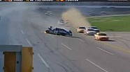 2009 NSC Talladega The Finish Edwards flips (with french commentaries)