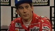 Senna calls Prost a 'coward'' - 1992 Portuguese Grand Prix