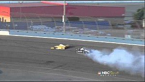 Will Power Crash - IndyCar Fontana 2012