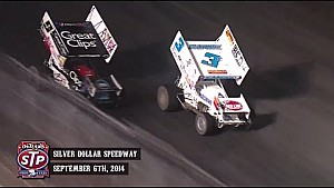Highlights: World of Outlaws STP Sprint Cars Silver Dollar Speedway September 6th, 2014