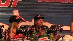 Force and Capps talk a little Smack in Indy | NHRA