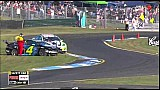 Holdsworth massive shunt - 2014 Sandown 500