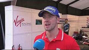Formula E Beijing ePrix - Sam Bird interview