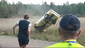 2014 Euro Rally Crash