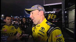 Full aftermath of the NASCAR Cup race at Charlotte with Keselowski