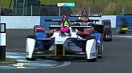 Formula E test race Donington Park