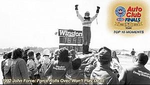 1992 John Force: Rolls Over, Won't Play Dead | Top 10 Finals Moment