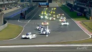 WEC 2014: 6H of Shanghai Start+Finish