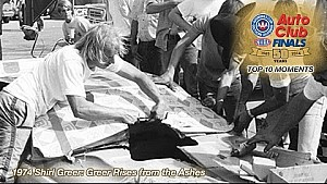 1974 Shirl Greer rises from the ashes to win | Top Ten Finals Moment