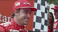 Santander's surprise to Fernando Alonso