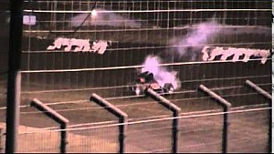Markus Niemela's massive crash at 360 Oval Nationals