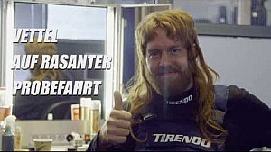 Sebastian Vettel the crazy mechanic