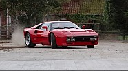 The Ferrari 288 GTO - Group B Spec in gymkhana