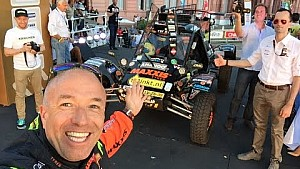 Dakar 2015 scrutineering day for Tim & Tom