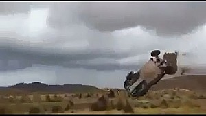 Dakar 2015 Stage 7 Campbell Crash