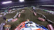 Helmet Cam - Jessy Nelson Main Event 2015 Monster Energy Supercross from Anaheim 2