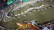 Jessy Nelson helmet cam Main Event 2015 AMA Supercross from Oakland