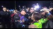 Denny Hamlin y Danica Patrick argumento después de la carrera