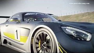 Mercedes-AMG GT3 trailer