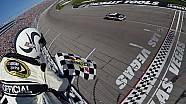 Harvick finally wins at Las Vegas