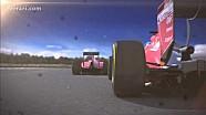 Escudería Ferrari 2014 - GP de Australia - Vettel