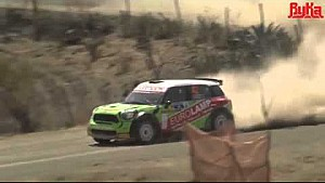 Eurolamp WRT Mini hits spectator car