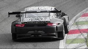 2016 Porsche 991 GT3 R testing at Monza