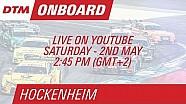 Marco Wittmann - Live Onboard (Race 1) - DTM Hockenheim 2015