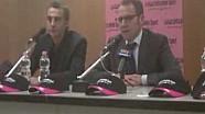Stefano Domenicali in conferenza stampa al Motor Show