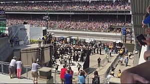 Purdue Marching Band's 'almost accident' at Indy 500