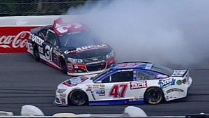 Newman sent around after contact with Allmendinger
