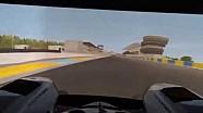 A lap of Le Mans in the TMG simulator with Sébastien Buemi
