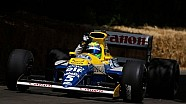 Felipe Massa pilote la Williams FW13B de 1990 à Goodwood
