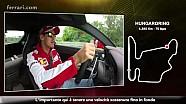 GP d'Ungheria - Un giro di pista con Sebastian Vettel