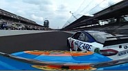 Almirola, Bayne disagree and make contact