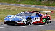 Spy video of the Ford GT 2016-spec GTE testing
