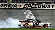 Ryan Blaney wins at Iowa
