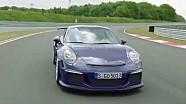 En piste avec la Porsche 911 GT3 RS