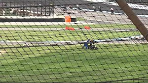 From the grandstand: Josh Herrin crash at Indianapolis