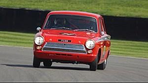 Touring car champ Jordan speeds along in Lotus Cortina
