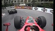 F1 Mónaco 2006 - Michael Schumacher Persiguiendo a Rubens Barrichello