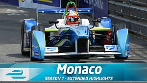 Monaco ePrix Full Extended Highlights (Season 1 - Round 7)