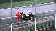Heavy crash at the GT Open Monza race