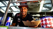 Formula One Driver Daniel Ricciardo Serves Up An Austin Treat...